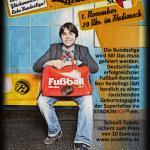 Plakat Ben Redelings StadionEck 12 Leverkusen