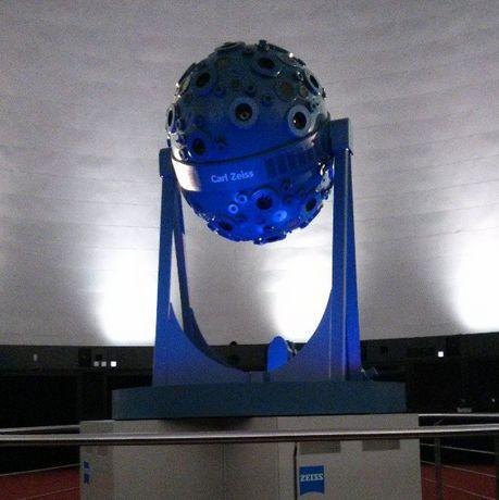 Planetarium Zeiss Jena Thüringen Projektor