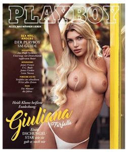 Playboy 02 2018 Dschungel Camp Giuliana Farfalla