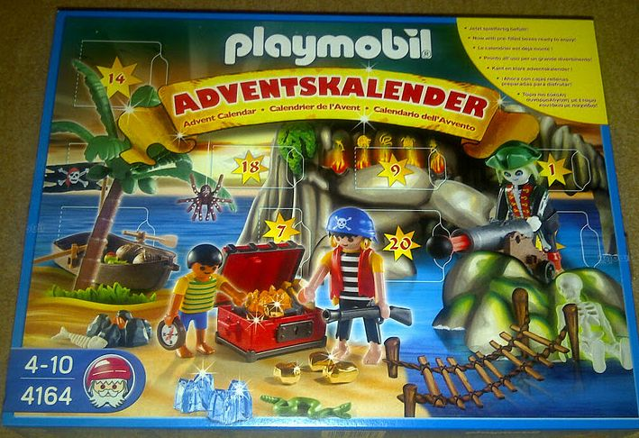 Playmobil Adventskalender 2011 Piraten
