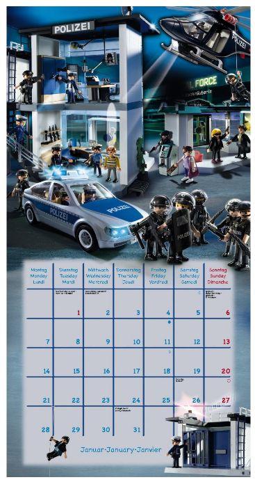 Playmobil Calendar 2013 Amazon Polizei Kalender Produkttest Rezension