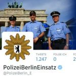Polizei Berlin Profil Twitter #24hPolizei