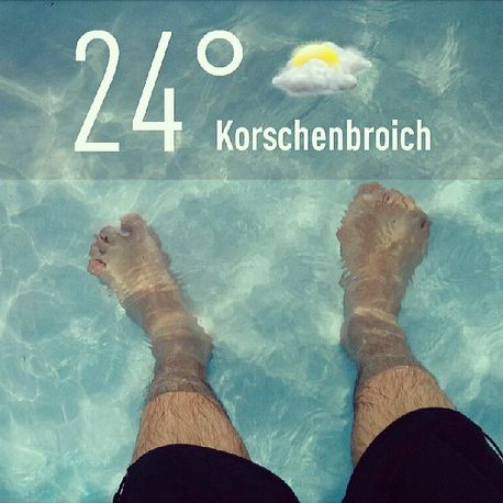 Pool Planschbecken Abkühlung Sommer 2013
