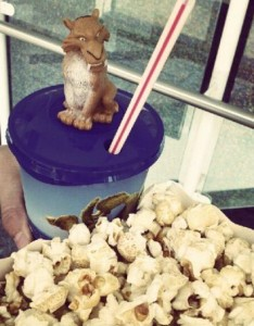 Popcorn Ice Age 4 Coca Cola light Cine Center Mönchengladbach