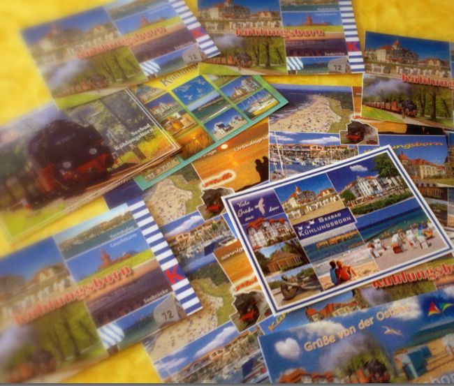 Postkarten Kühlungsborn 2011