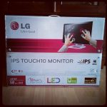 Produkttest LG 23ET83 LED-IPS Touch Monitor Karton
