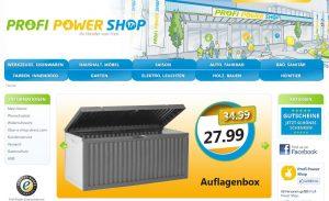 Profi-Power-Shop - Online Baumarkt - der Baumarkt für Heimwerker vom Profi