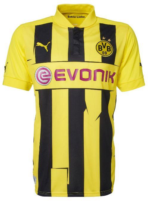 Puma Herren Fußball Trikot Borussia Dortmund Champions League Trikot Saison 2012 2013 BVB