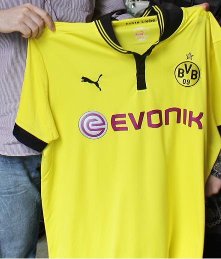 Puma Trikot BVB Borussia Dortmund Saison 2012 2013