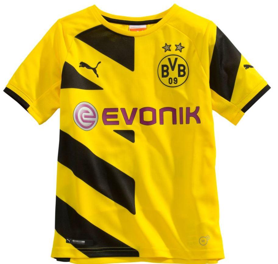 Puma Trikot Borussia Dortmund Saison 2014 2015 Heimtrikot