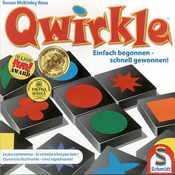 Qwirkle Spiel des Jahres 2011