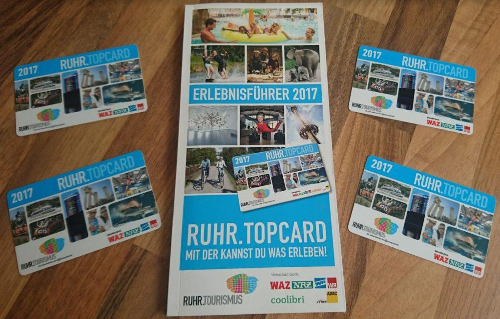 RUHR.TOPCARD Erlebnisführer 2017 Ruhrgebiet