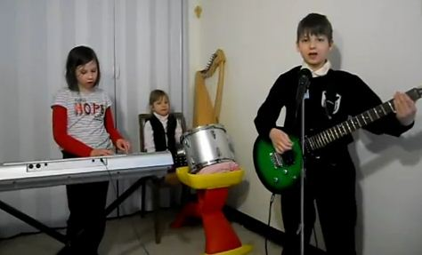 Rammstein Sonne Cover Children Medieval Band YouTube Video