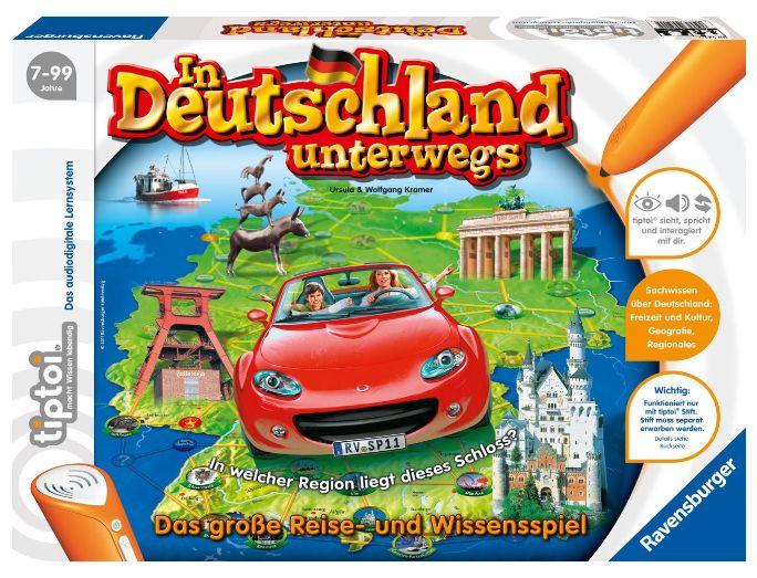 Ravensburger 00521 - tiptoi® In Deutschland unterwegs (Ohne Stift) Amazon