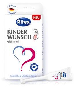 Ritex Kinderwunsch Gleitmittel Verpackung