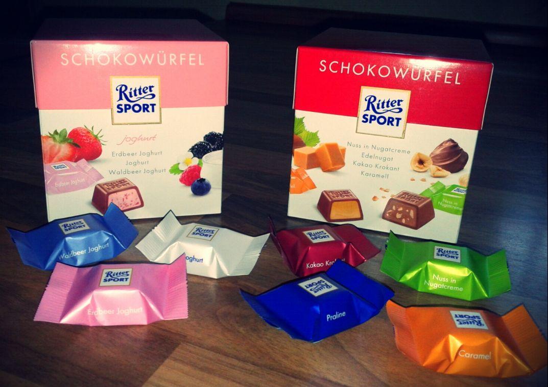 Ritter Sport Botschafter Ostern 2012 Schokowürfel Joghurt Classic