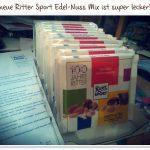 Ritter Sport Edel-Nuss Mix limitierte Jubiläumssorte 100 Jahre