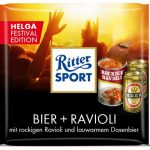 Ritter Sport Festival Edition Bier + Ravioli