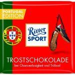 Ritter Sport Trostschokolade Portugal Edition WM 2014 Brasilien