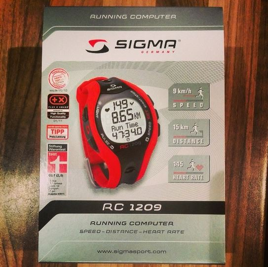 SIGMA SPORT Running Computer RC 1209