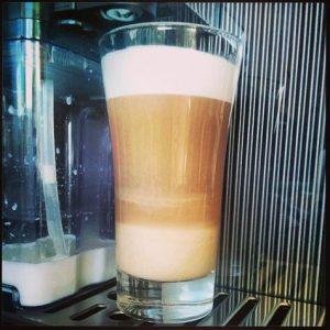 Saeco GranBaristo One Touch Latte macchiato Auslauf
