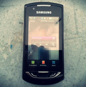 Samsung Handy Smartphone Fund Kleinenbroich Fundstück Eickerender Feld