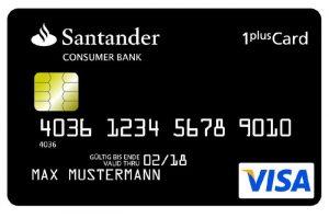 Santander 1 plus Card