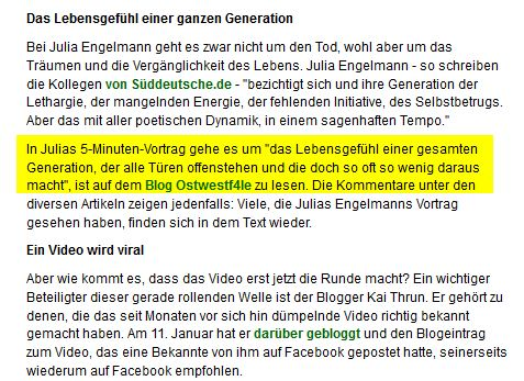 Screenshot DRadio Wissen