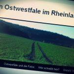 Screenshot Ein Ostwestfale im Rheinland Blog