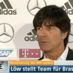 Screenshot WM 2014 Bundestrainer Joachim Löw nominiert seinen Kader