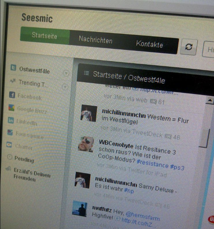 Seesmic Screenshot