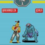 Sesame Street Fighter Ernie vs. Krümelmonster