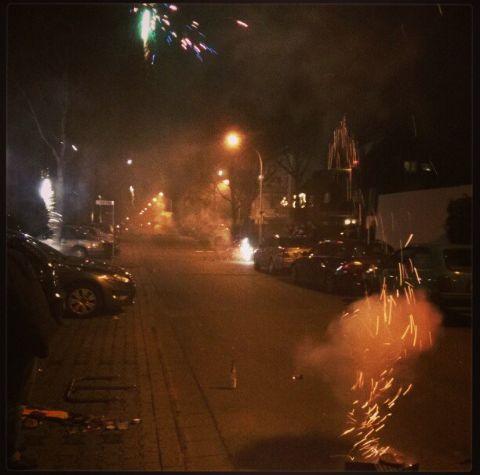 Silvester Neujahr 2012 2013 Kleinenbroich Jahreswechsel