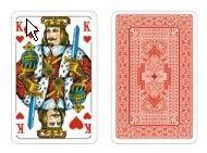 stich beim kartenspiel