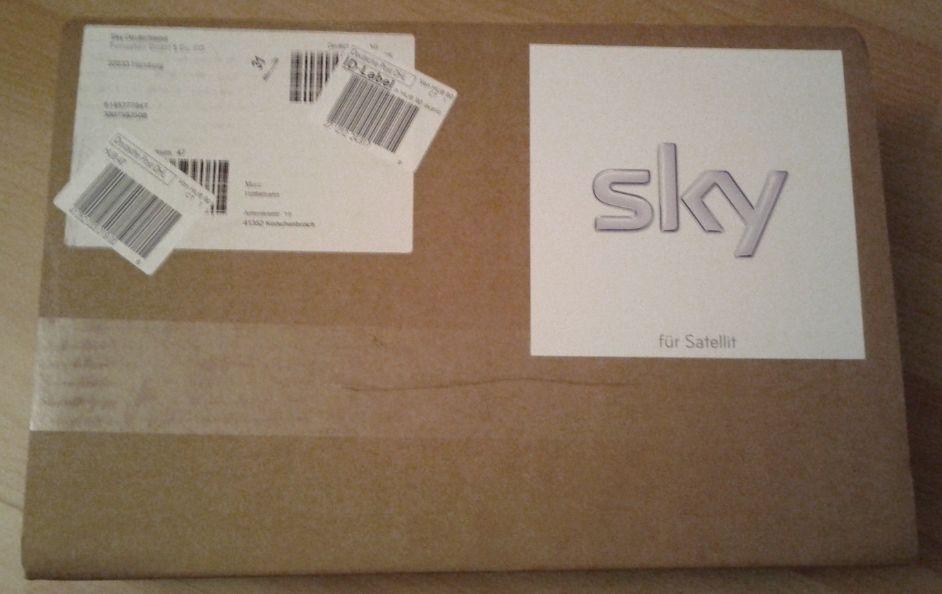Sky Receiver HD Paket