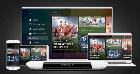 Sky Sport Kompakt inklusive bei Telekom Sport
