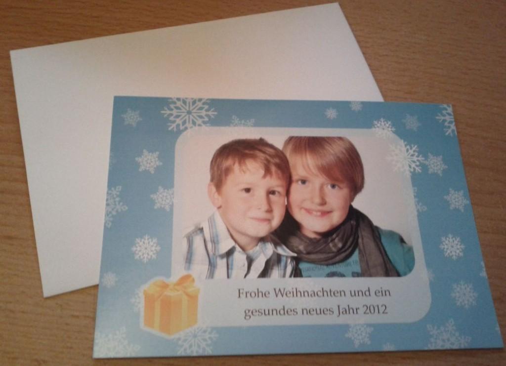 Smartphoto Weihnachtskarte 2011