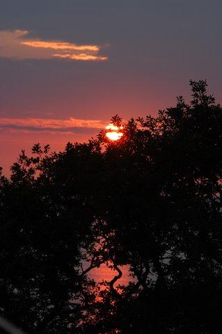 Sonnenuntergang Kühlungsborn