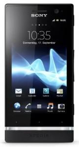 Sony Xperia U Smartphone 3,5 Zoll schwarz Amazon