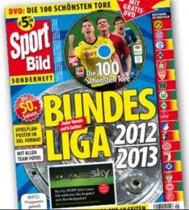 SportBild Sonderheft Bundesliga Saison 2012 2013 Test Rezension Bewertung