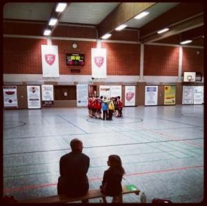 Sporthalle Asternweg Mönchengladbach Giesenkirchen ATV Biesel Handball HG Kaarst-Büttgen E-Jugend E2