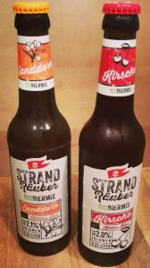 Störtebeker Strandräuber Bio Biermix Sanddorn Weizen-Bier Kirsche Keller-Bier