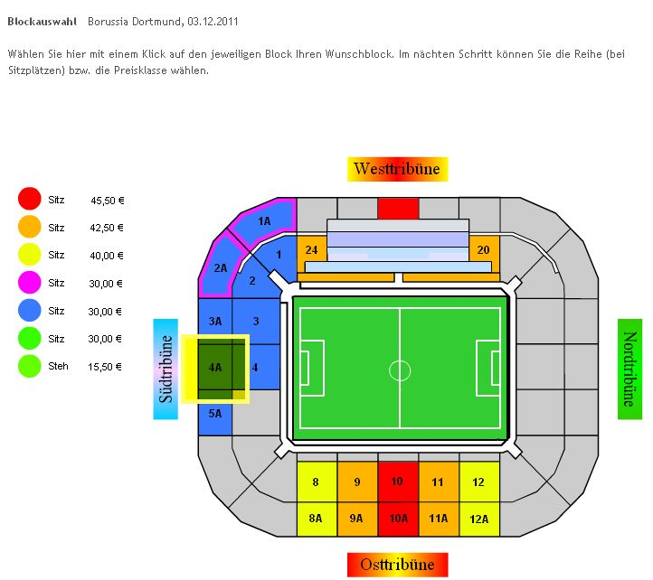 Stadion Borussia Mönchengladbach Gladbach Borussia Dortmund