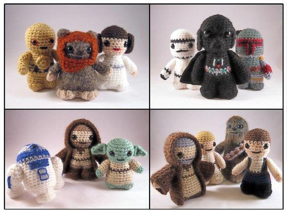 Libro Amigurumi Star Wars : Star Wars Minifiguren im Amigurumi Style > Vermischtes ...