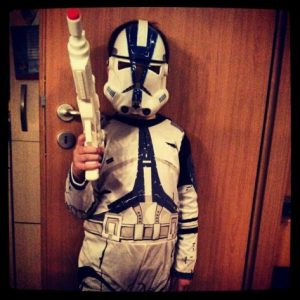 Star Wars Clone Trooper Kostüm Maske