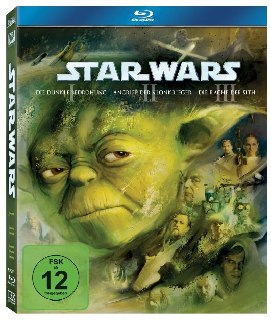 Star Wars Trilogie I - III - Der Anfang Blu-ray