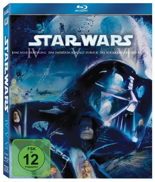 Star Wars Trilogie IV - VI Blu-ray