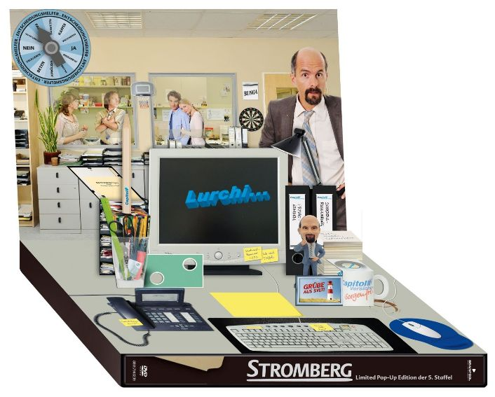 Stromberg Staffel 5 Bernd DVD Serie Pop Up Limited Edition