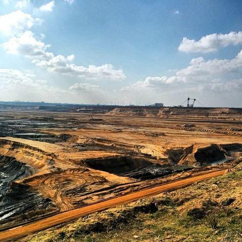 Tagebau Garzweiler Jüchen RWE