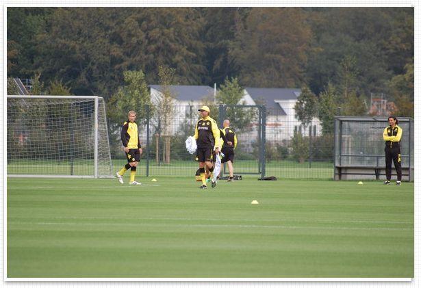 Training Borussia Dortmund BVB Brackel
